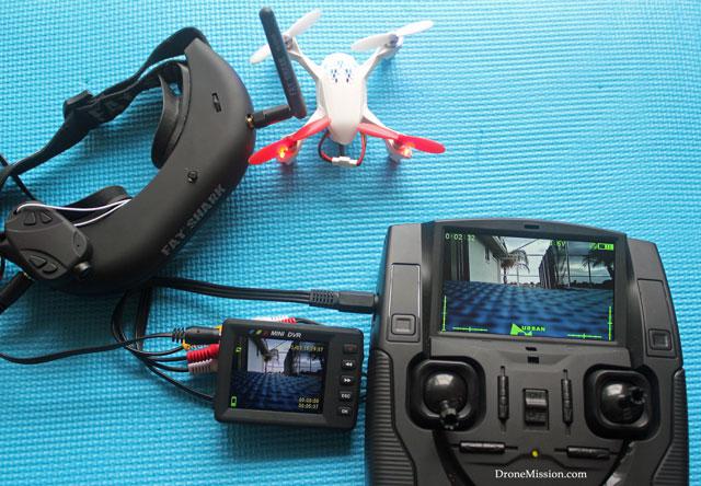 Hubsan X4 H107d Fpv Quadcopter Rtf With 5 8g Fpv 6ch